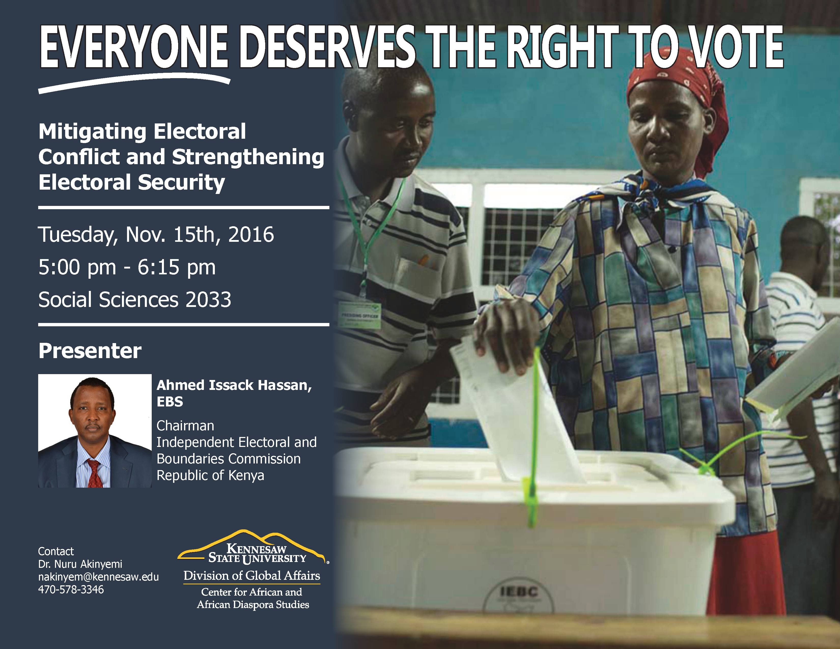 Mitigating election conflict