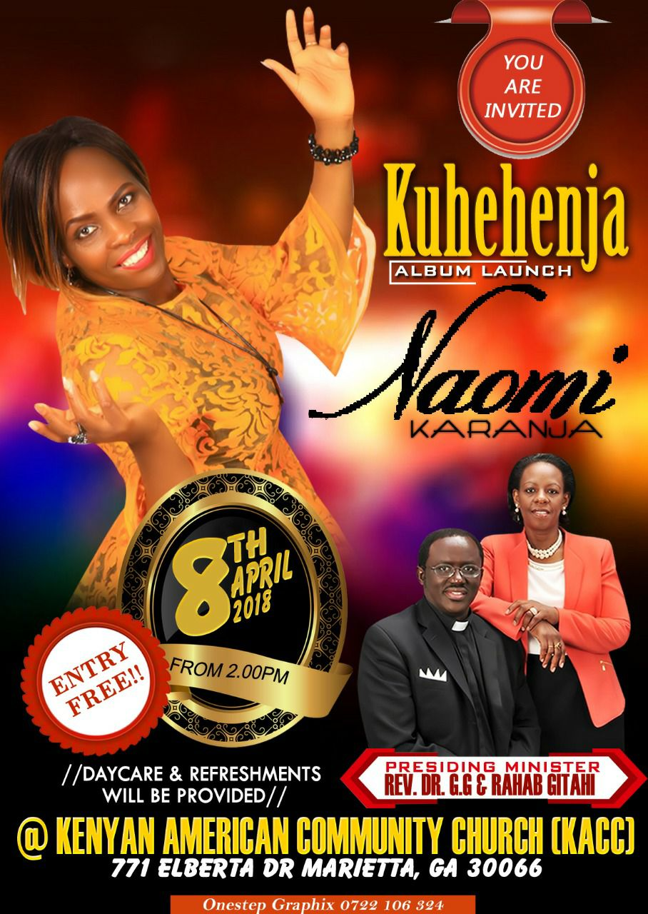 Naomi Karanja CD Launch Kuhehenja