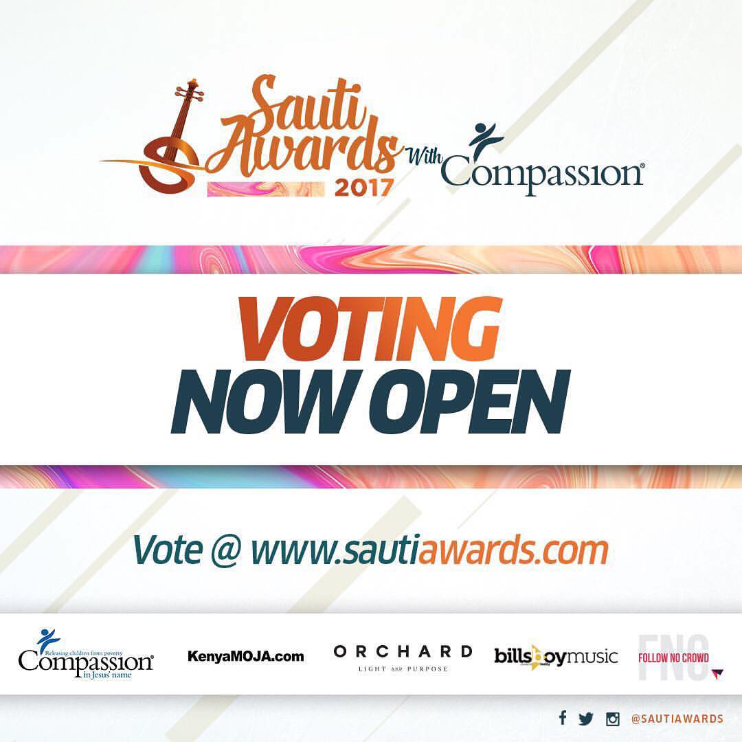 Sauti Awards 2017 Voting