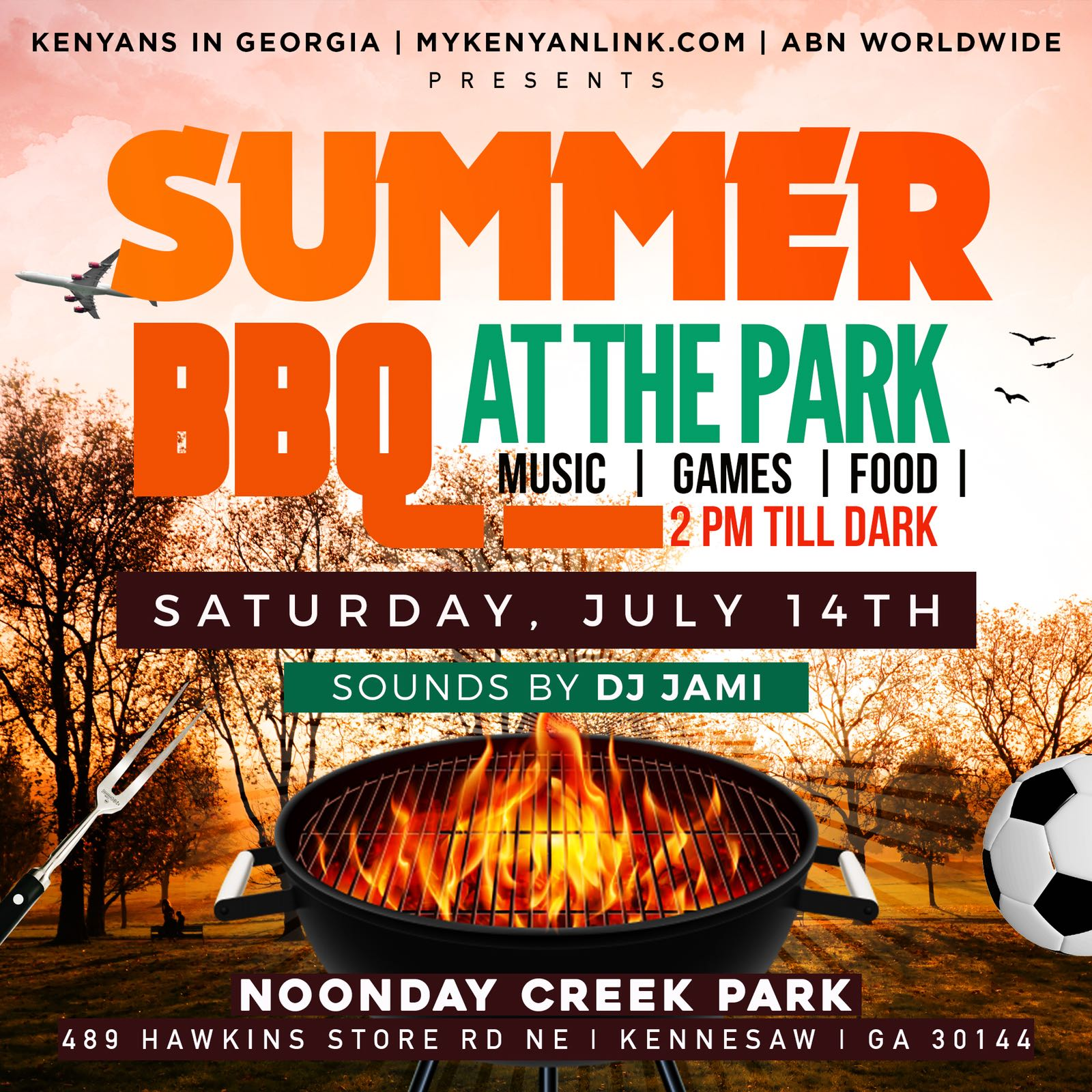 Summer BBQ At The Park 2018