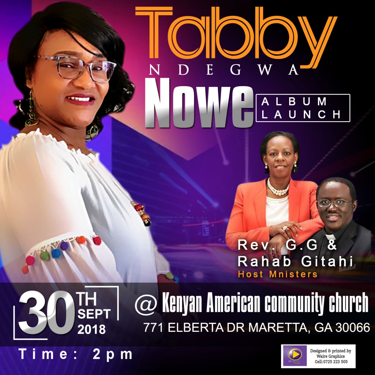 Tabby.Ndegwa.Nowe.CD.Launch